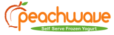 Peachwave Self Serve Frozen Yogurt logo