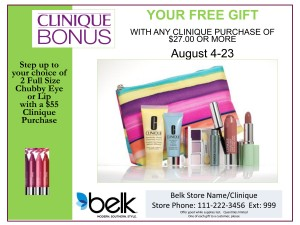 Clinique Bonus Event | Myrtle Beach Mall | Myrtle Beach, SC