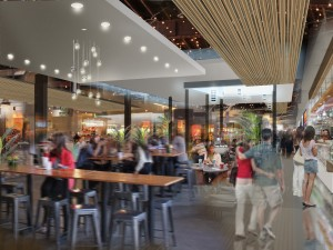 Food Hall Rendering 1