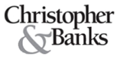 christopher & banks | cj banks logo