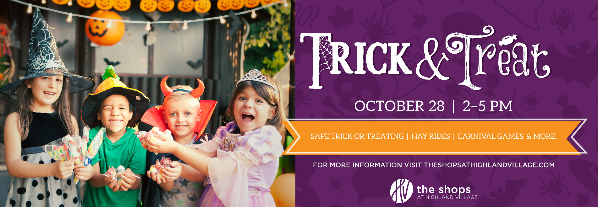 trick or treat at the shops