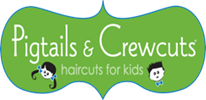 Pigtails and Crewcuts logo