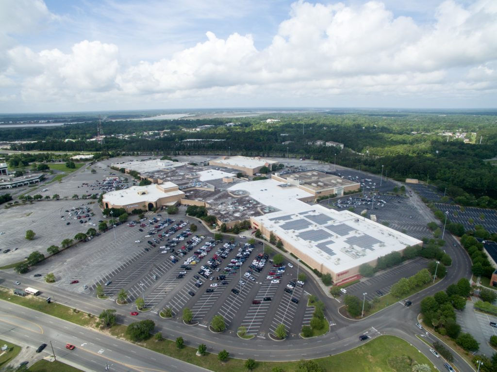 aerial view of citadel mall