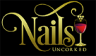 Nails Uncorked logo