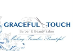 Graceful Touch Barber and Beauty Salon logo
