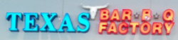 Texas Bar-B-Q Factory logo