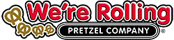 We're Rolling Pretzel Co logo